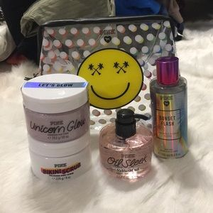 Victoria's Secret pink beauty bundle